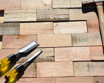 Reclaimed Wood Tile Boards, Interior Design Tile Boards, Reclaimed Wood Furniture