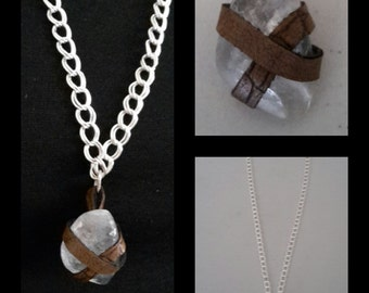 """HOM """"Calley"""" Necklace with Calcite Stone"""