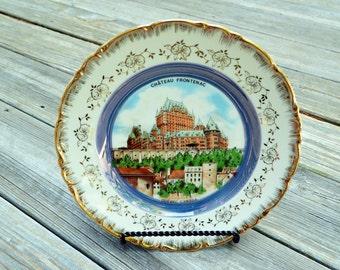 Vintage Château Frontenac Decorative Plate Cassidy's Ltd.