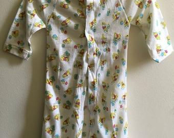 Vintage Winnie the Pooh Newborn Robe Boy Girl