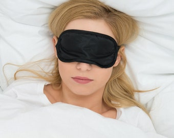 Sleeping Eye Mask - Soft, Comfortable & Lightweight Design