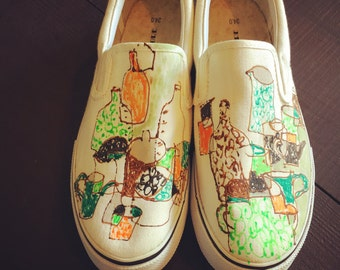ennakonoma handpainted shoes