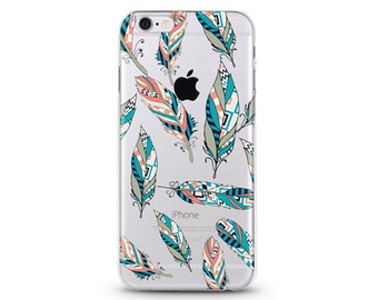 Pick Your Feather iPhone 6s case, Soft iPhone 6 case, iPhone case,