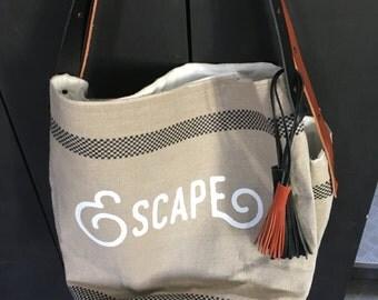 bag canvas customized ESCAPE