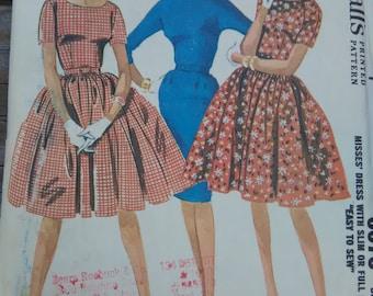 McCalls 6673, Vintage, Dress Pattern, 1960s