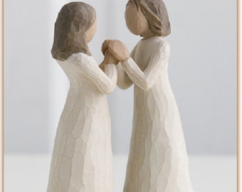 Sisters By Heart, Willow Tree NIB