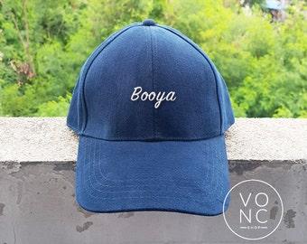 Booya Baseball Hat Embroidery Hat Fashion Hipster Cap Cotton Cap Pinterest Instagram Tumblr