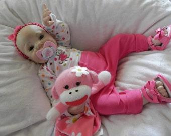 Reborn baby girl, Fake baby, Reborn Doll,