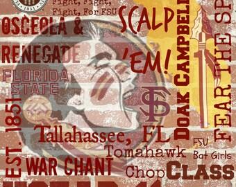 FSU Personalized Collage