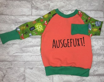 "Long-sleeved T-shirt ""ausgefuxxt"""
