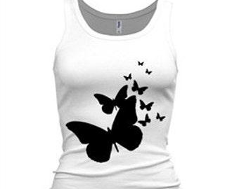 A D-Zines Butterfly tank top