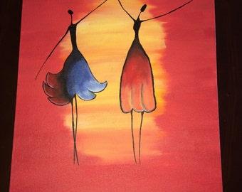 The Dancing Ladies