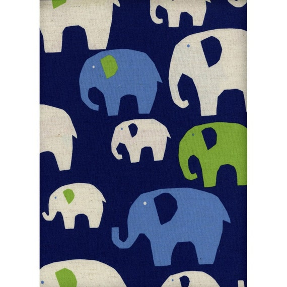 Elephant fabric lightweight canvas safari fabric for Safari fabric for nursery