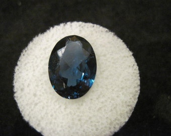 Deep Teal Spinel. 5.7 ct.