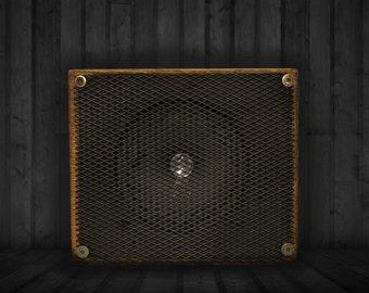 Wooden Garage Amp