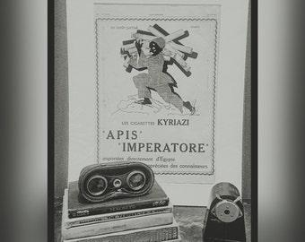 Cigarettes Kyriazi Advert 1928