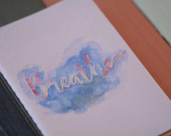 Breathe // Mindfulness Moleskine Journal