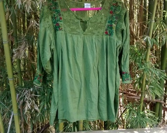 Mexican Poet Blouse