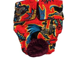 Batman Kaboom Washable Bunny Diaper Rabbit Diaper