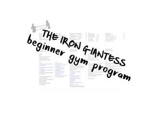 Beginner's Gym Program