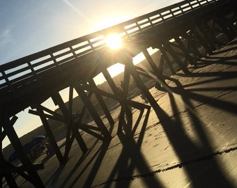Board Walk Sunset
