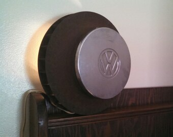 Vw fan lamp mancave garage light