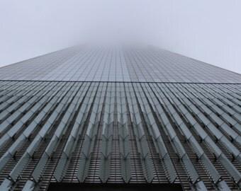 New York sky scraper print