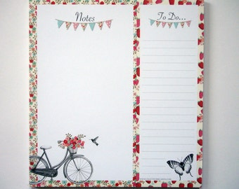 Alfresco Note/To Do paper pad from Craftwork Cards