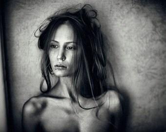 Fine Art Photography print by Alina Lebedeva - B/W photo (sepia), 2014, Signed