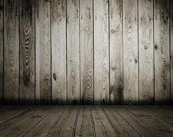 PolyPro Vinyl Photography Backdrop #1627 Dark Barn--Available in many sizes!