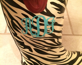 Rain Boots Monogram, Galoshes