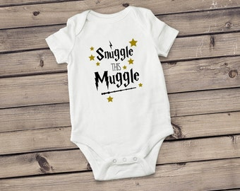 Snuggle this Muggle Bodysuit | Wizard Bodysuit