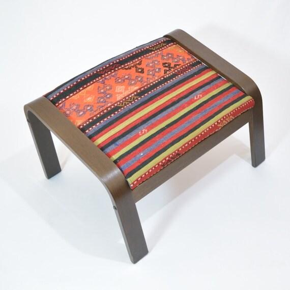 Ikea Rug Felt: IKEA POÄNG Footstool Cushion Handmade Rug By RugsCoverIKEA