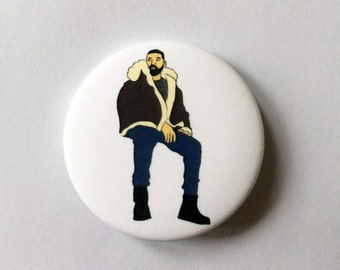 Drake Views 1.5 inch Pinback Button