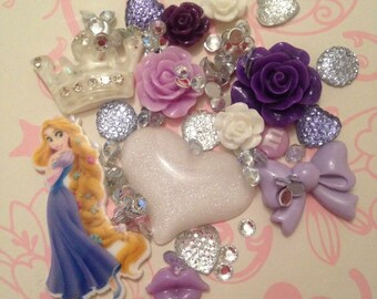 Rapunzel Tangled DIY Decoden Kit