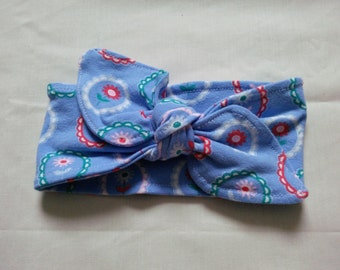 0-6 months Baby girls knot headband