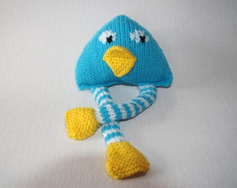 Woolen cuddly toy - LITTLE CHICK - BébéNuage
