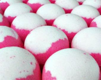 JUMBO 8 Oz. Man Candy Bath Bombs! (Bigger and Better than Lush!) Great Spa Gift! Handmade Bath Fizzies.