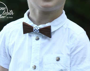 Wooden Bow Tie for boys