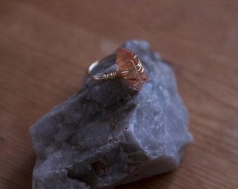 Ring: Tangerine Quartz