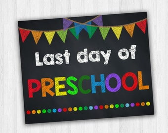 Obsessed image in last day of preschool sign printable