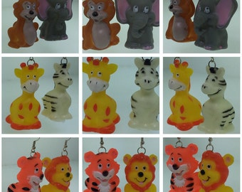 Jungle Safari Finger Puppets