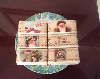 Vintage Santa Six Pack of Soaps