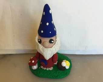 Polymer clay knome.