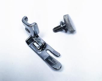 Original Singer 221 222 Featherweight Sewing Machine Straight Stitch Presser Foot & Thumb Screw~Simanco Part #45321~Low Shank~66 99 127 128
