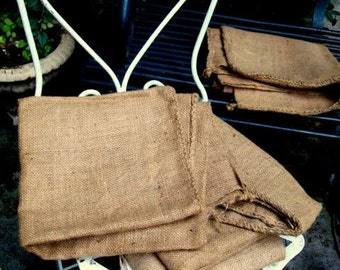 A large old Hessian, never used bag.