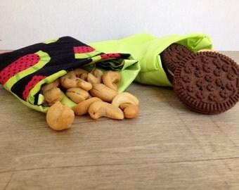 Reusable Food-Safe Snack Bags -- Set of 2