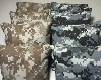 Digital Camo Cornhole Bean Bags