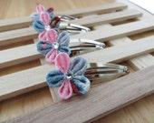 Hair Accessories-Hair Clips-Hair Piece-Hair Pins-Barrettes and Clips-Kanzashi Flower-Kanzashi-Women's Hair Accessories-Hair Clips for Girls
