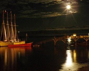 Bar Harbor Moonlight